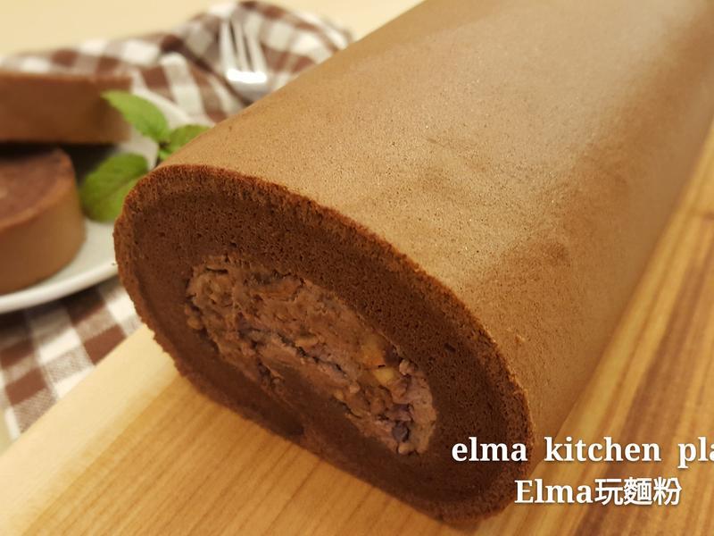 金莎巧克力蛋糕捲