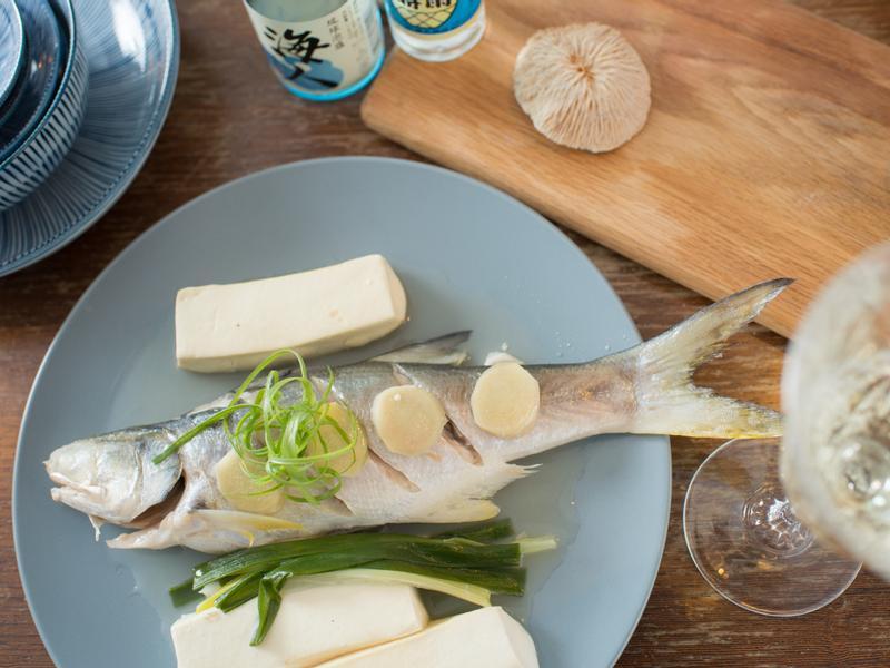 泡盛煮白身魚