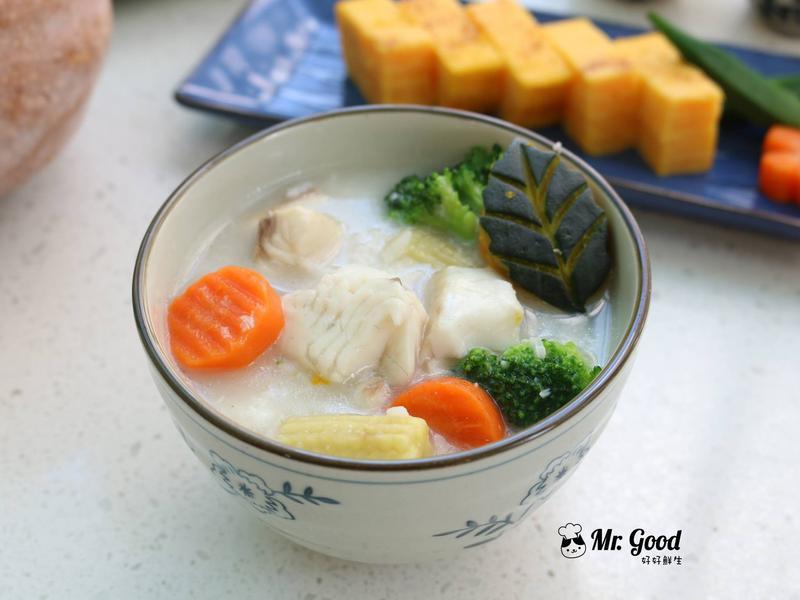溫暖鯛魚片粥【好好鮮生料理廚房】