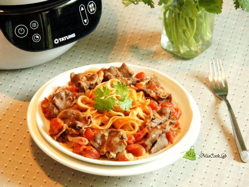 番茄牛肉義大利麵《大同複合料理無水鍋》