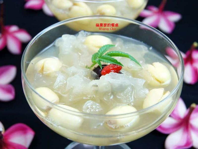 珊瑚草白木耳蓮子湯