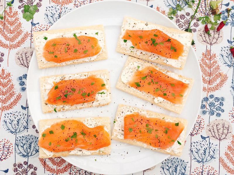 [Starter] 奶油乳酪燻鮭魚