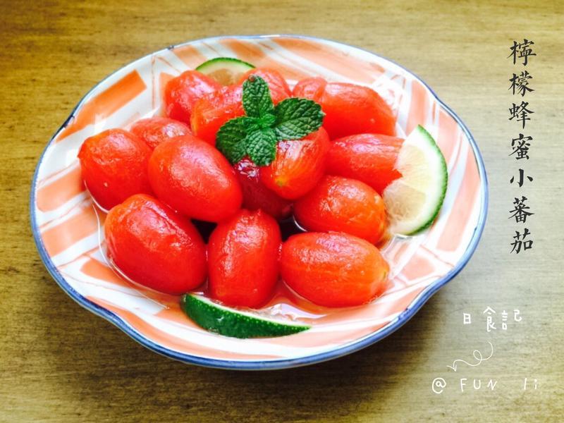 冰涼檸檬蜂蜜小蕃茄