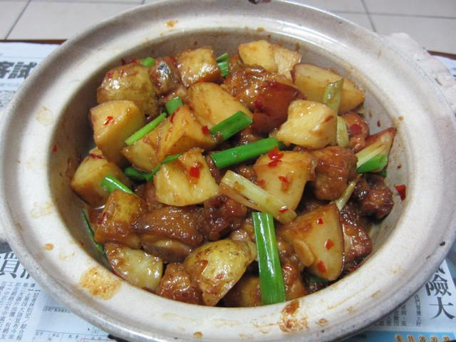 ♥我的手作料理♥ 辣炒馬鈴薯雞