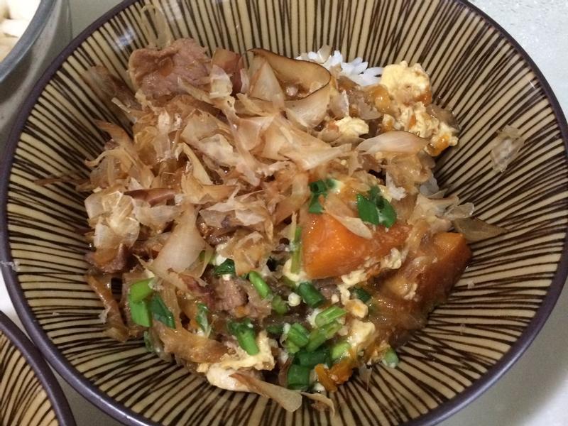 南瓜豬肉壽喜燒