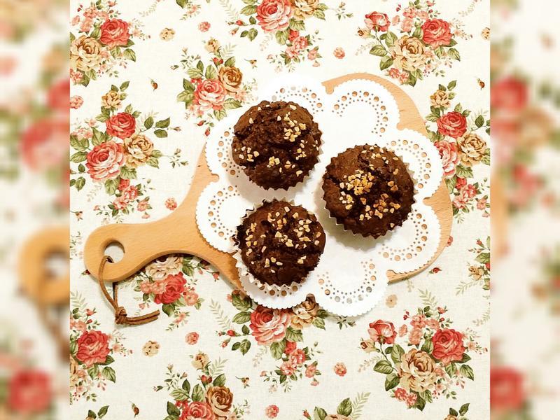 ♡超低糖超少油超好吃の巧克力瑪芬♡