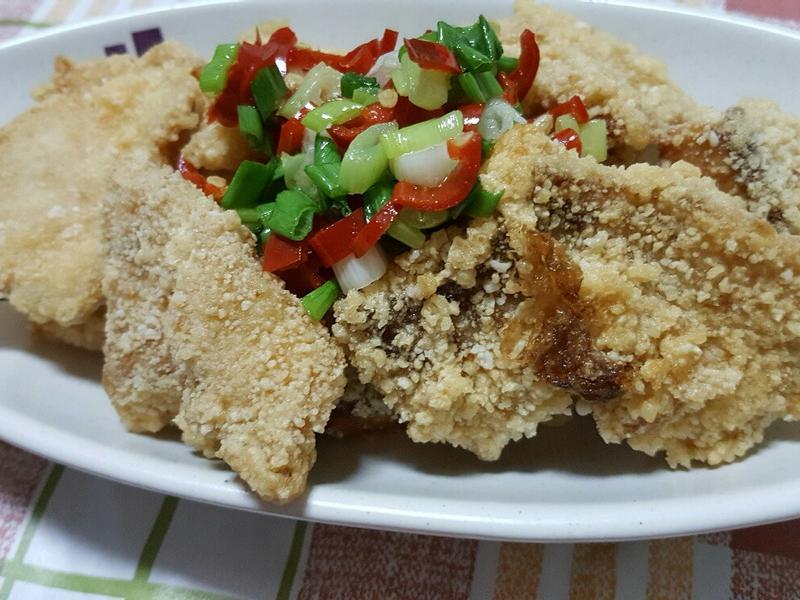 酥炸鯛魚片