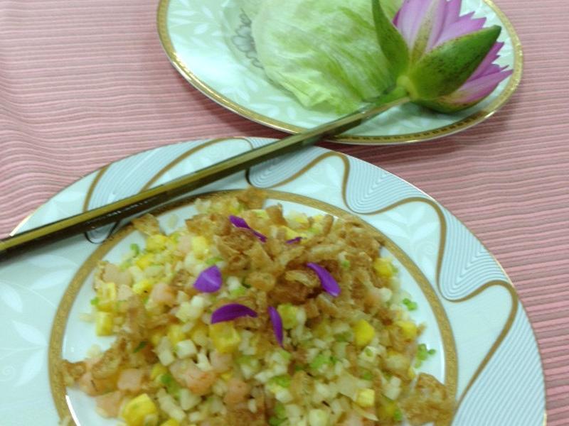 【小磨坊】鮮果拌蝦鬆