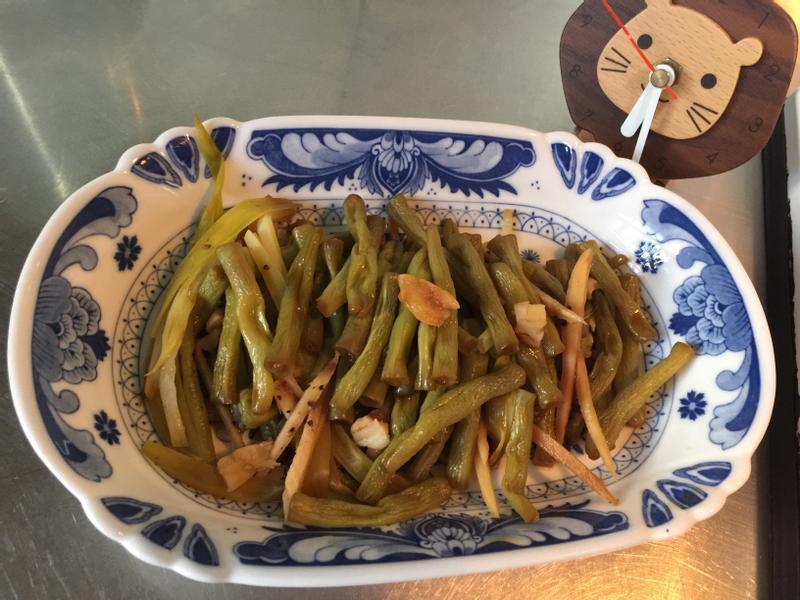 鍋燒四季豆