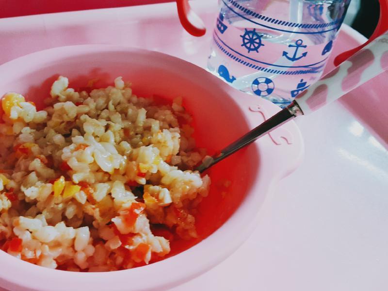 【一歲寶】彩椒鯛魚拌飯