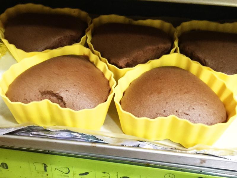 小烤箱-無油巧克力小蛋糕
