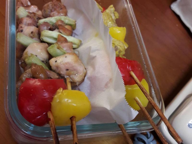 夏日雞肉串燒(超簡單)