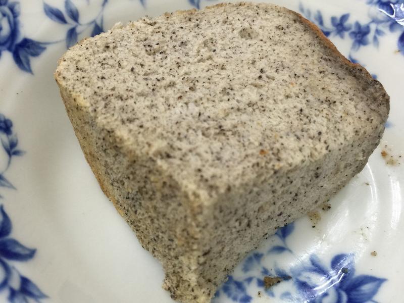 美味芝麻豆漿戚風蛋糕(減油減糖)