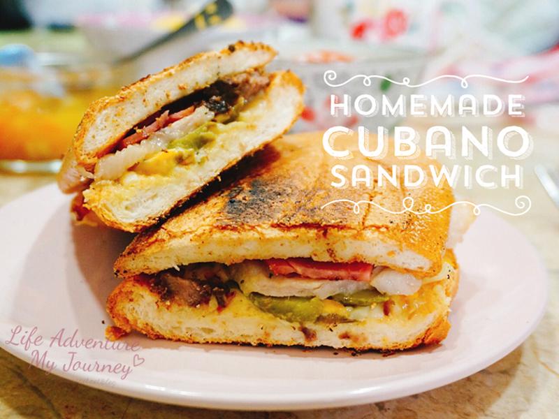 Homemade 古巴三明治