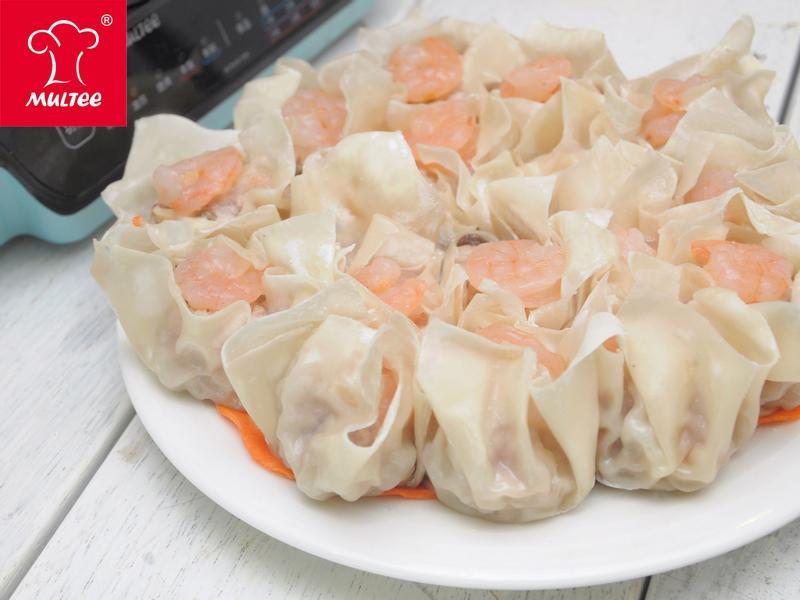 【摩堤_鑄鐵鍋料理】蝦仁菇菇肉燒賣