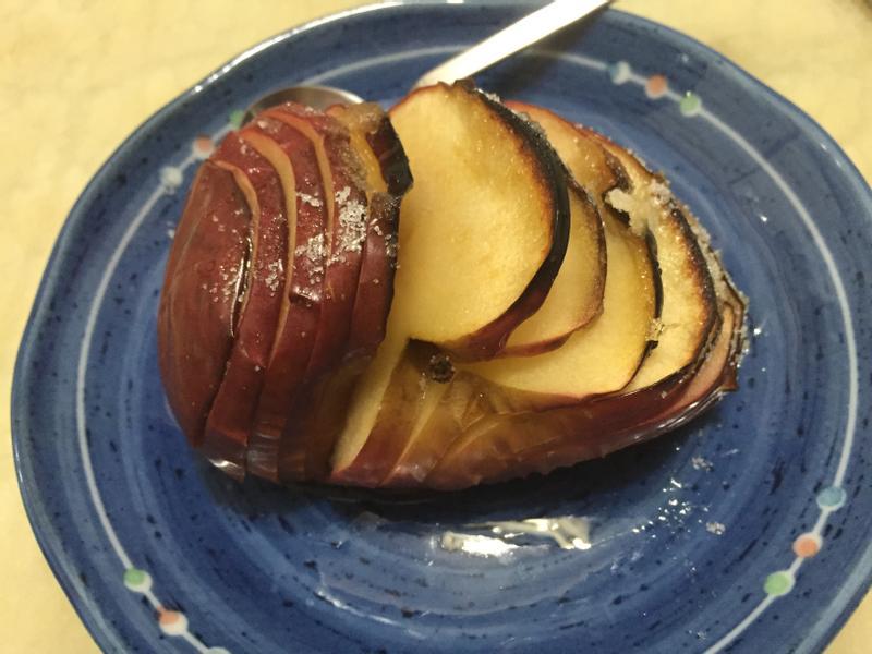 手風琴烤蘋果