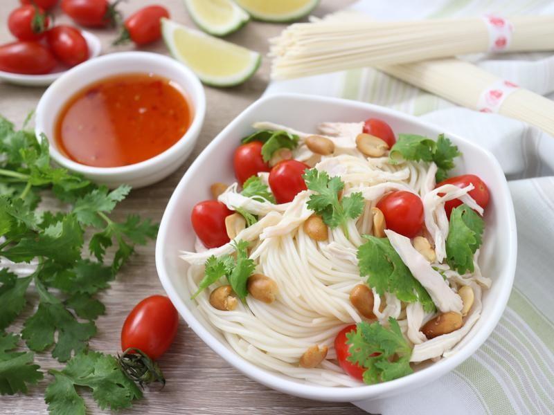 泰式酸辣涼麵-五木拉麵