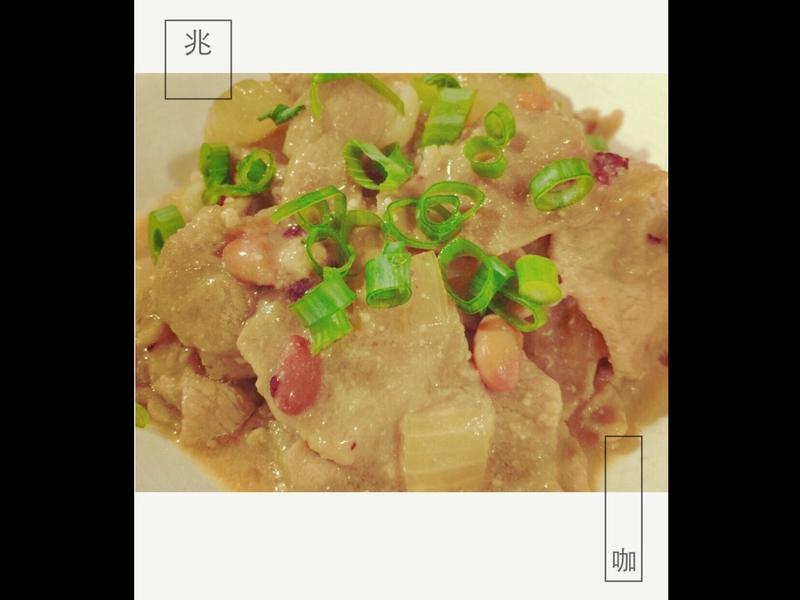 簡單的「紅糟腐乳燒肉」