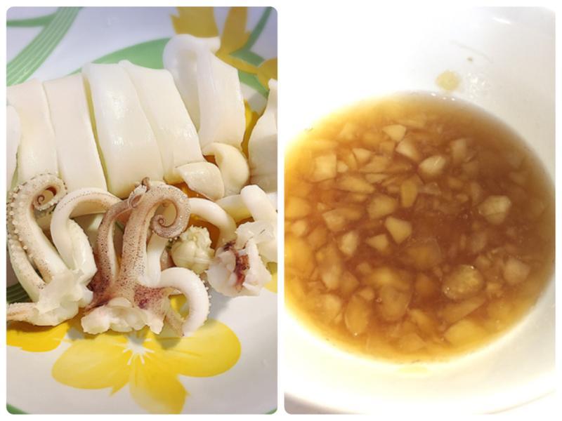 川燙透抽&海鮮沾醬(金風醬料變化版)