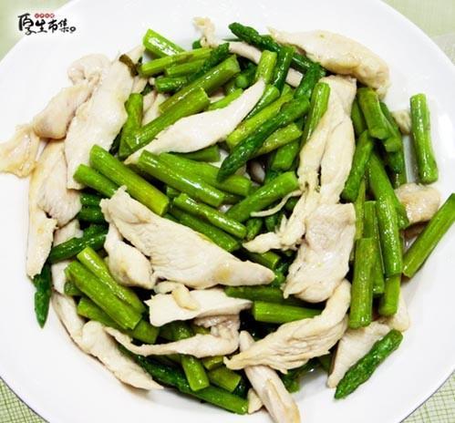 【厚生廚房】蘆筍炒雞肉