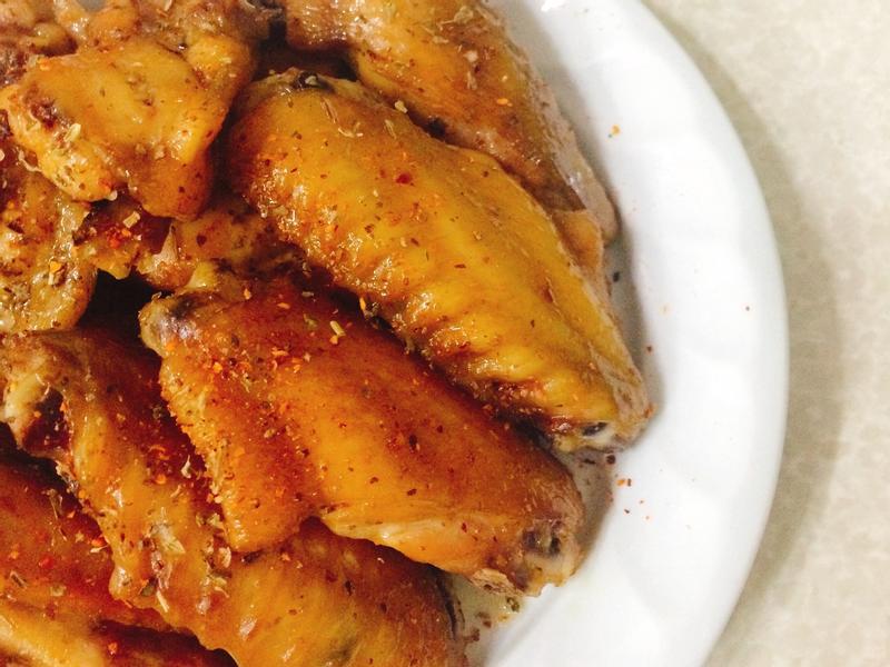 甜蜜。香草蜂蜜雞翅