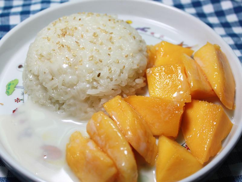 椰香芒果糯米飯
