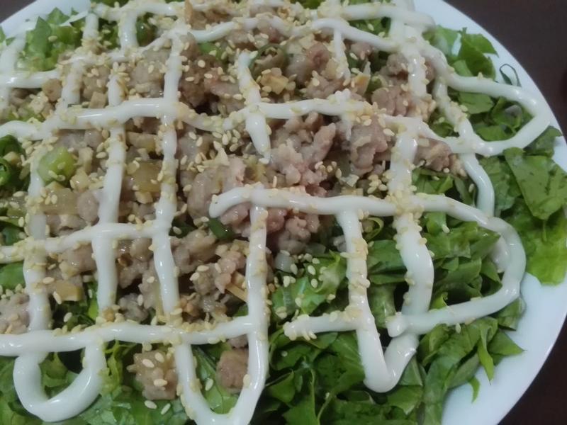 肉末生菜沙拉