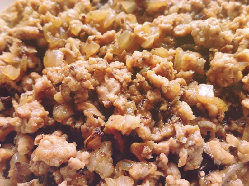 【麵哥副食品】洋蔥香菇肉燥(1歲以上)