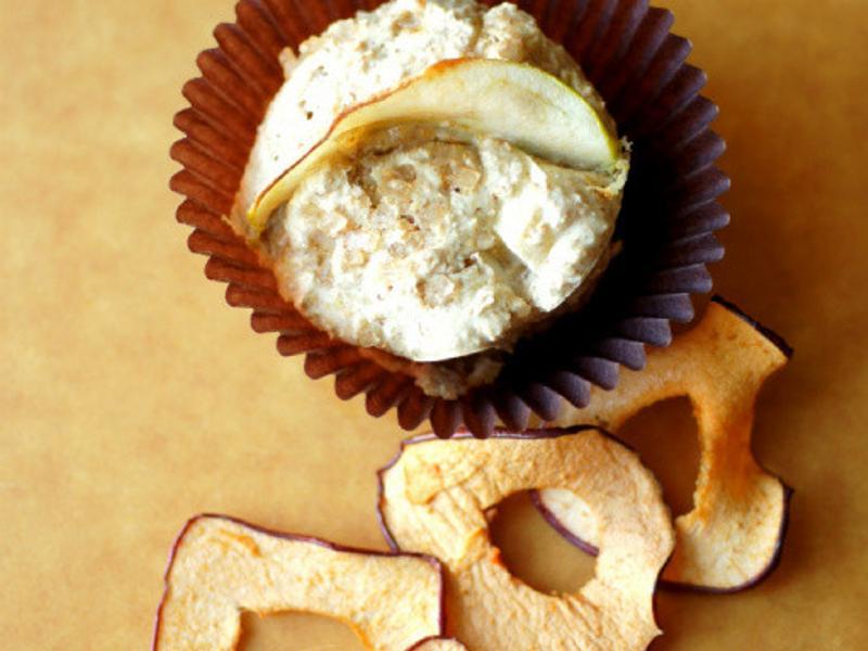 燕麥麩蘋果高纖瑪芬 Oat bran apple muffin(fat free)