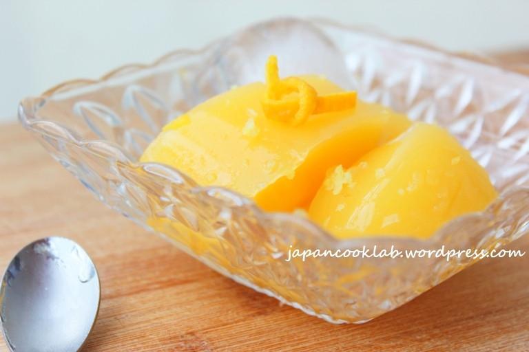 超滑橙肉布丁 (粟米粉版)