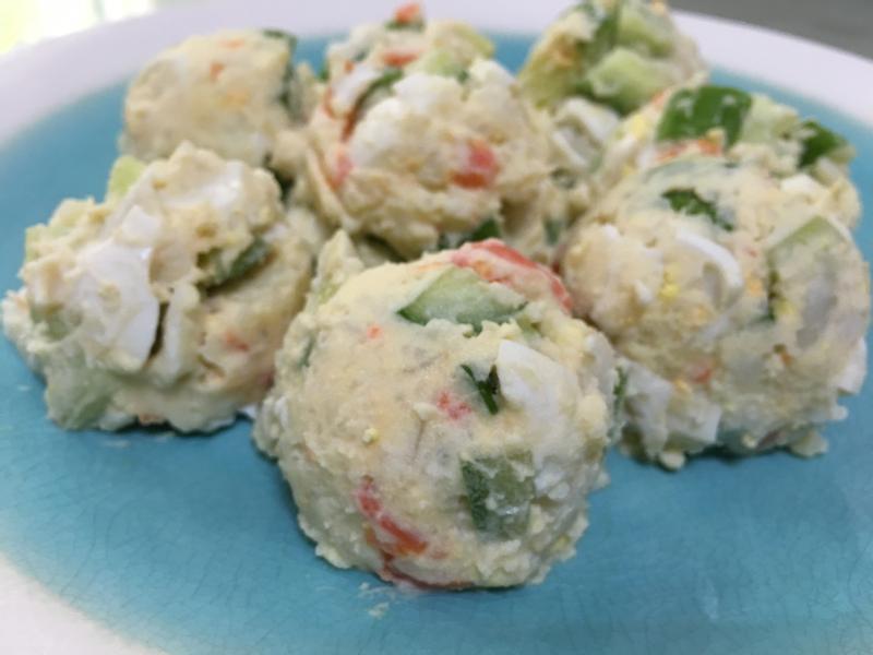 蔬菜馬鈴薯蛋沙拉