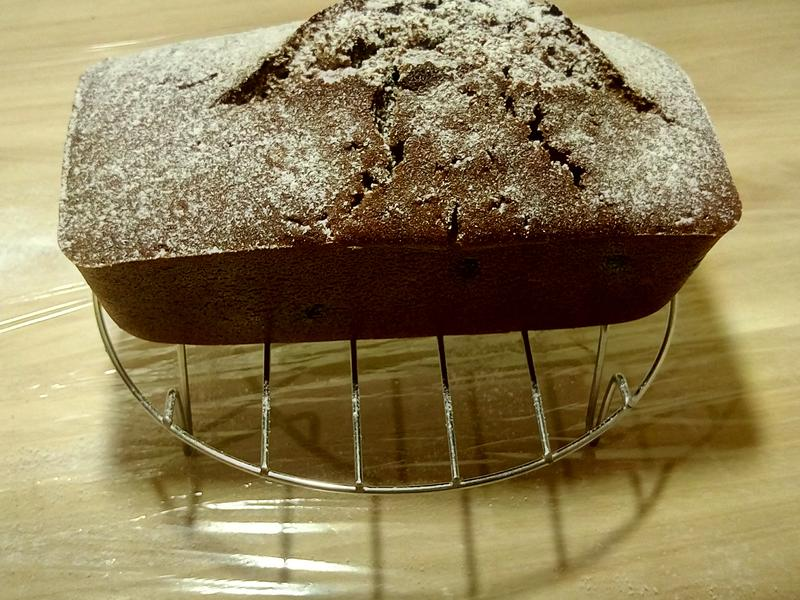 可可巧克力豆磅蛋糕