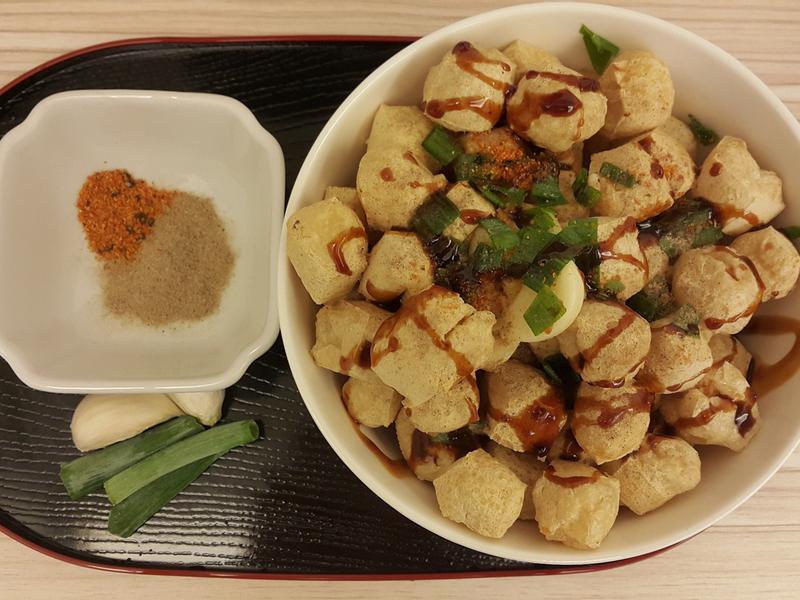 香酥百頁豆腐(氣炸鍋版)