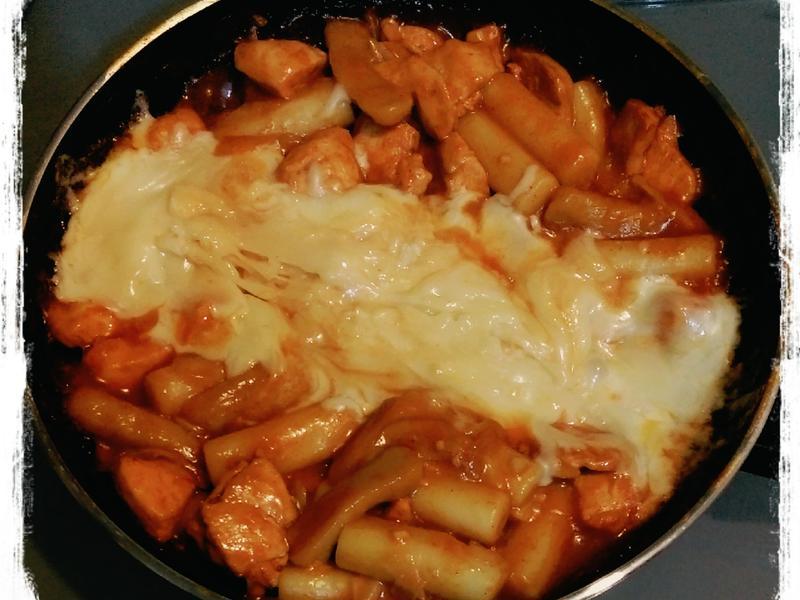 韓式炒年糕(起司)