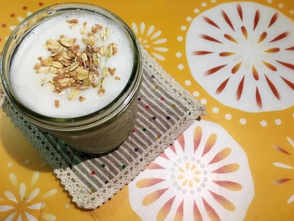 夏日健康飲品 - 香蕉豆漿