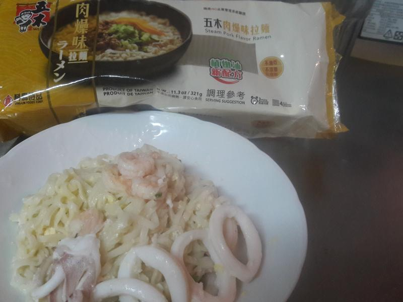 海鮮炒麵-五木拉麵
