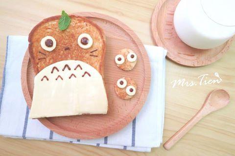 龍貓造型吐司✿小田太太玩樂廚房✿