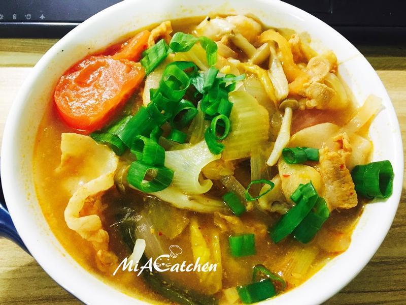 *韓式*泡菜豬肉豆腐鍋