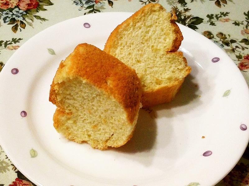 健康無油低糖戚風蛋糕