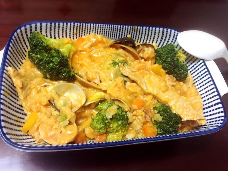 韓式豬肉起司燉飯