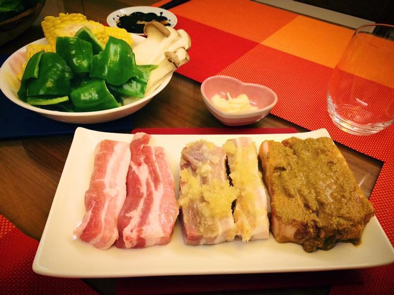 超夯! 三色韓國烤肉!  五花肉大變身!