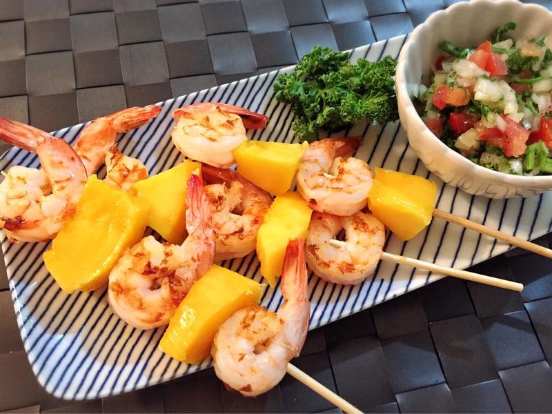 夏日芒果鮮蝦串【大同複合料理無水鍋】
