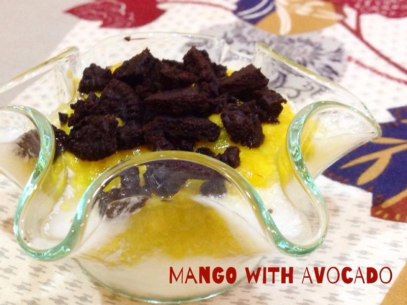 酸甜好滋味 - 芒果酪梨醬