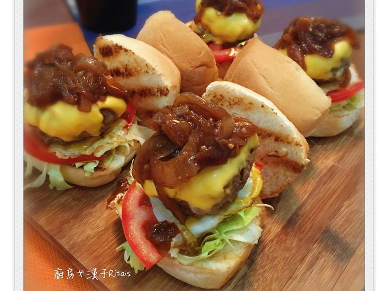 牛肉小漢堡