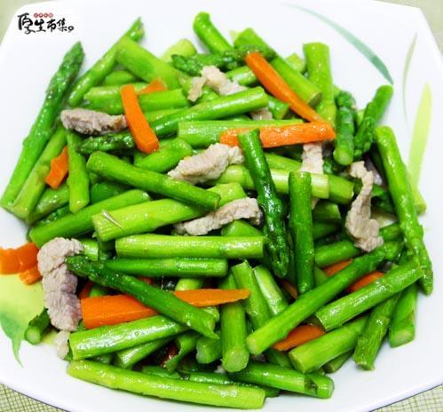 【厚生廚房】蘆筍炒肉絲