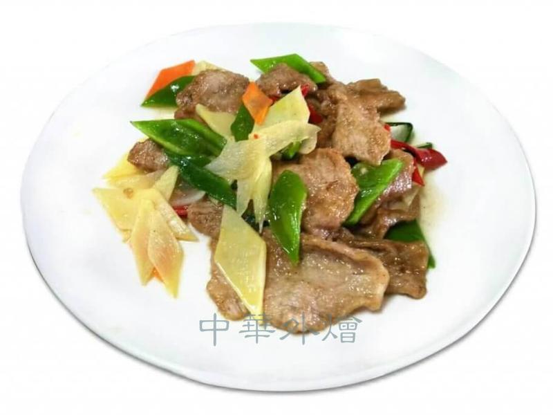 滑豬肉片【中餐乙級料理】
