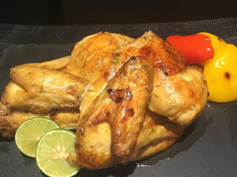 簡易冬蔭功焗雞