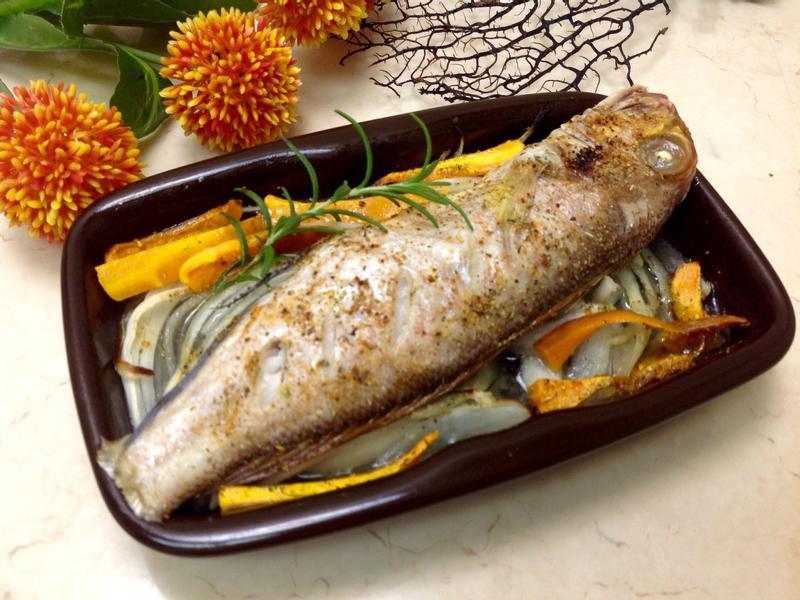 香料烤馬頭魚