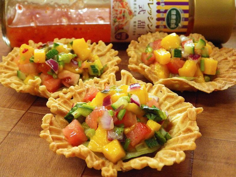 泰式芒果莎莎醬-健康廚房