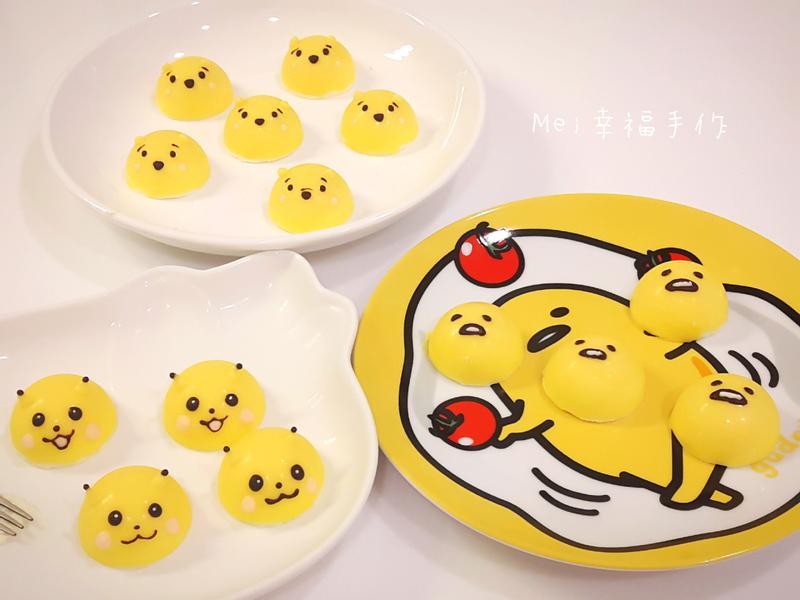 【檸檬巧克力乳酪】皮卡丘,維尼,蛋黃哥
